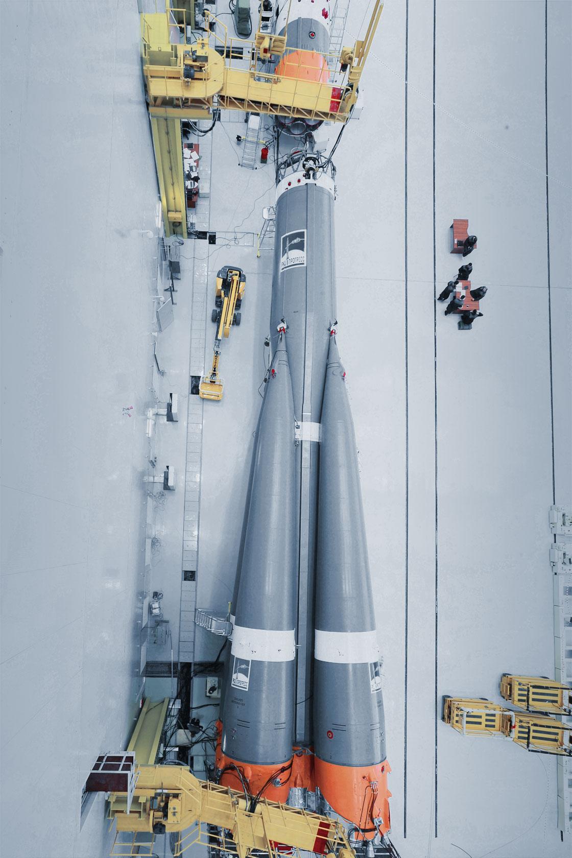 Vostoçnıy uzay üssünden ilk roket fırlatıldı 43
