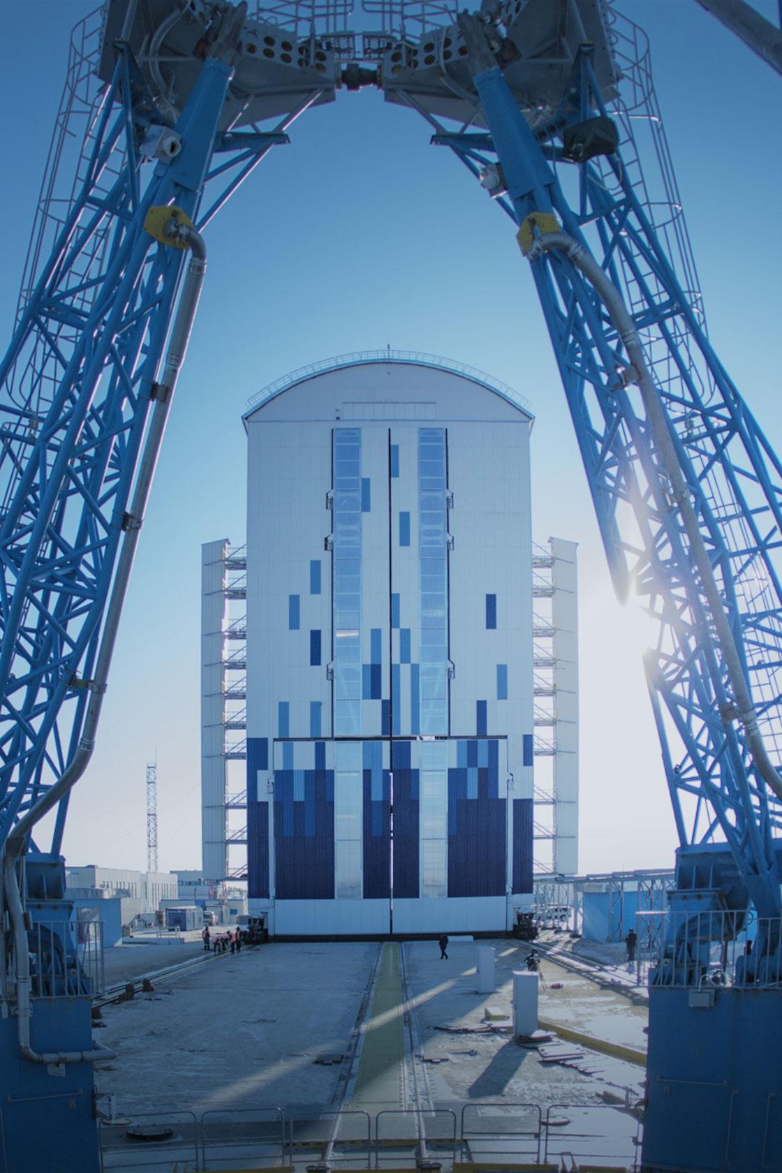 Vostoçnıy uzay üssünden ilk roket fırlatıldı 59
